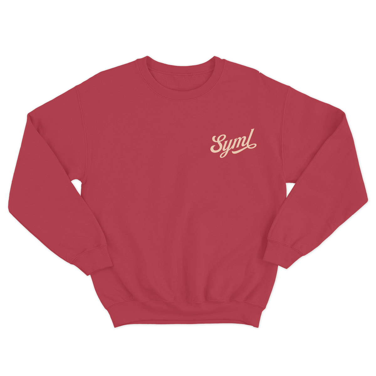 Traditional Logo Sweatshirt - Red