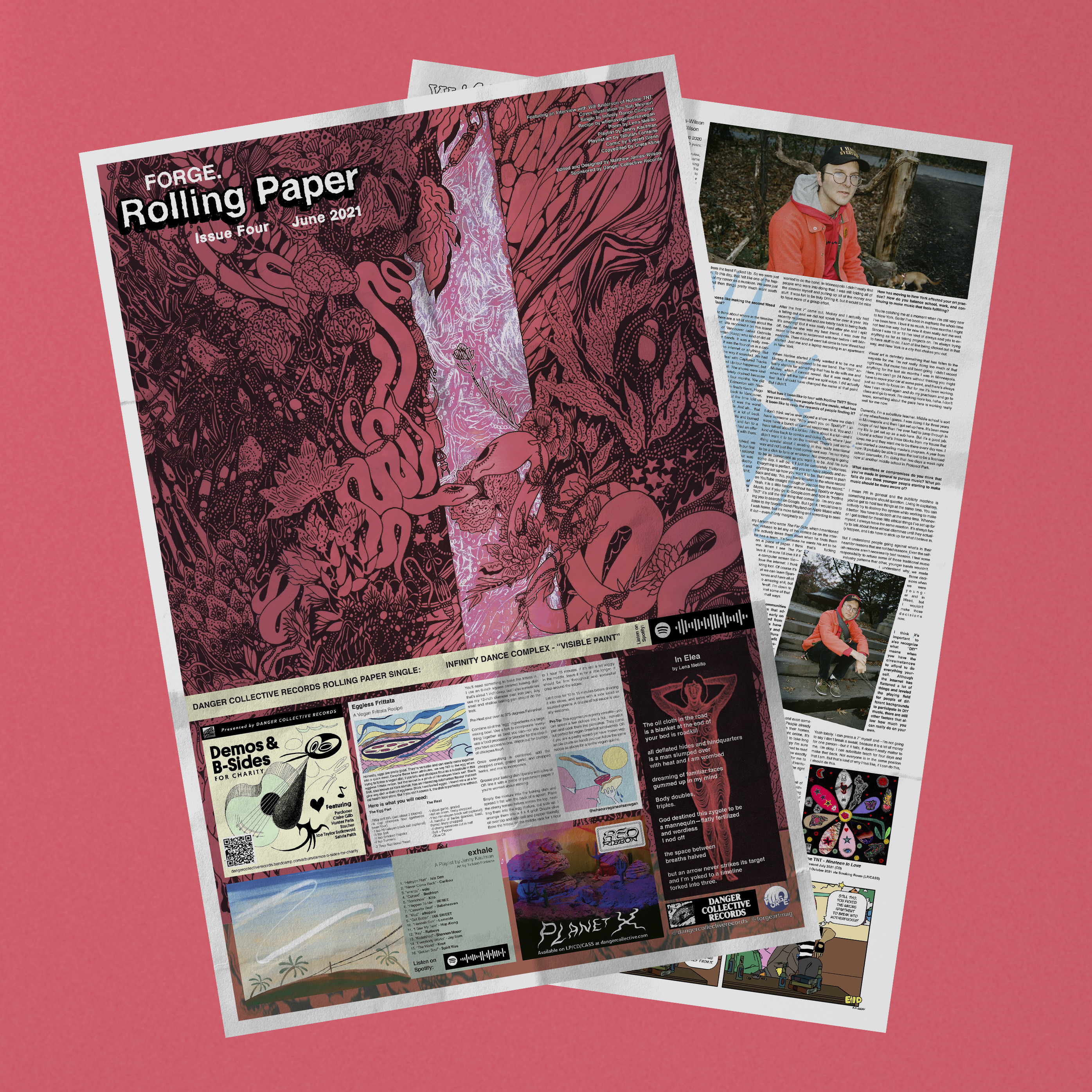 Copy of FORGE Rolling Paper Issue Four (Two Copies)