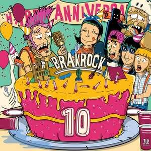 Brakrock 10 year anniversary vinyl