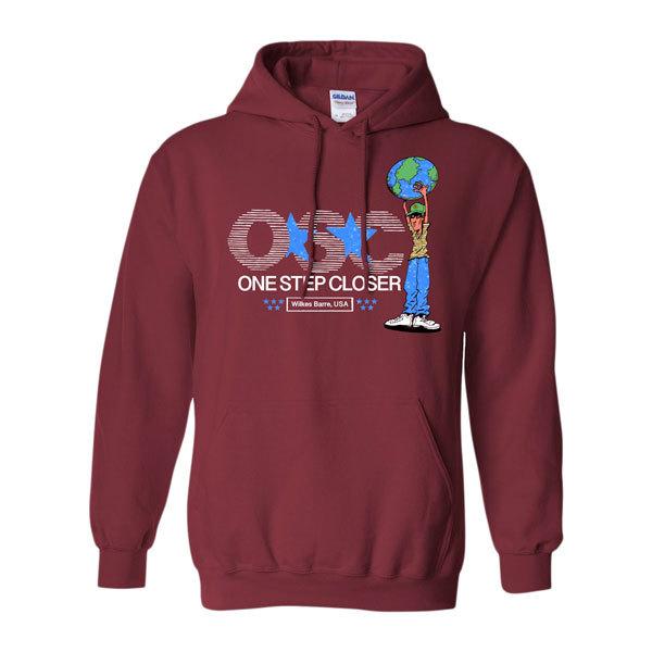 One Step Closer - Globe Hoodie Sweatshirt