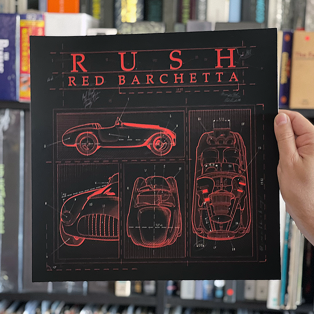 Red Barchetta (Blueprint Edition) Limited to 50