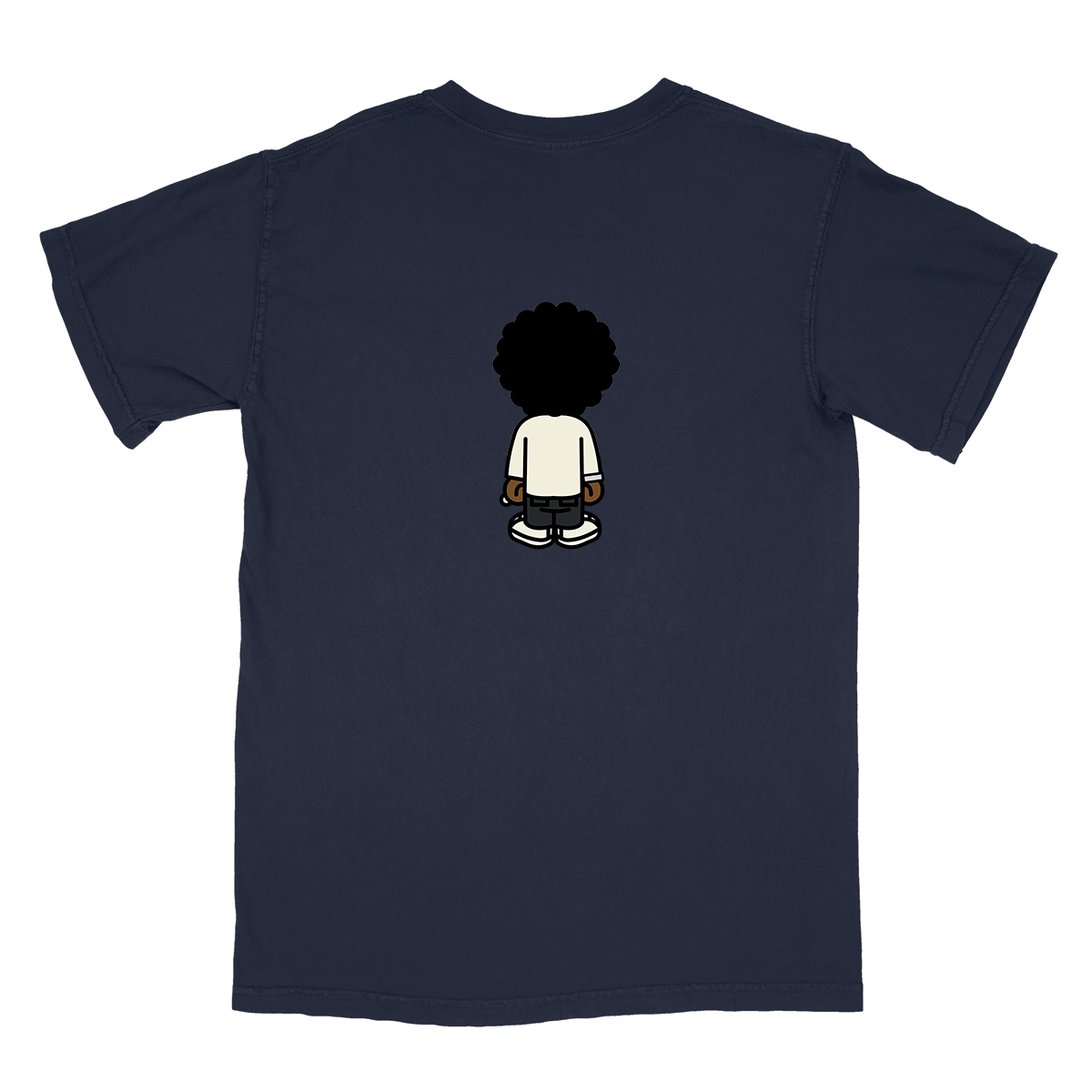 Wasting Time Tee - Navy