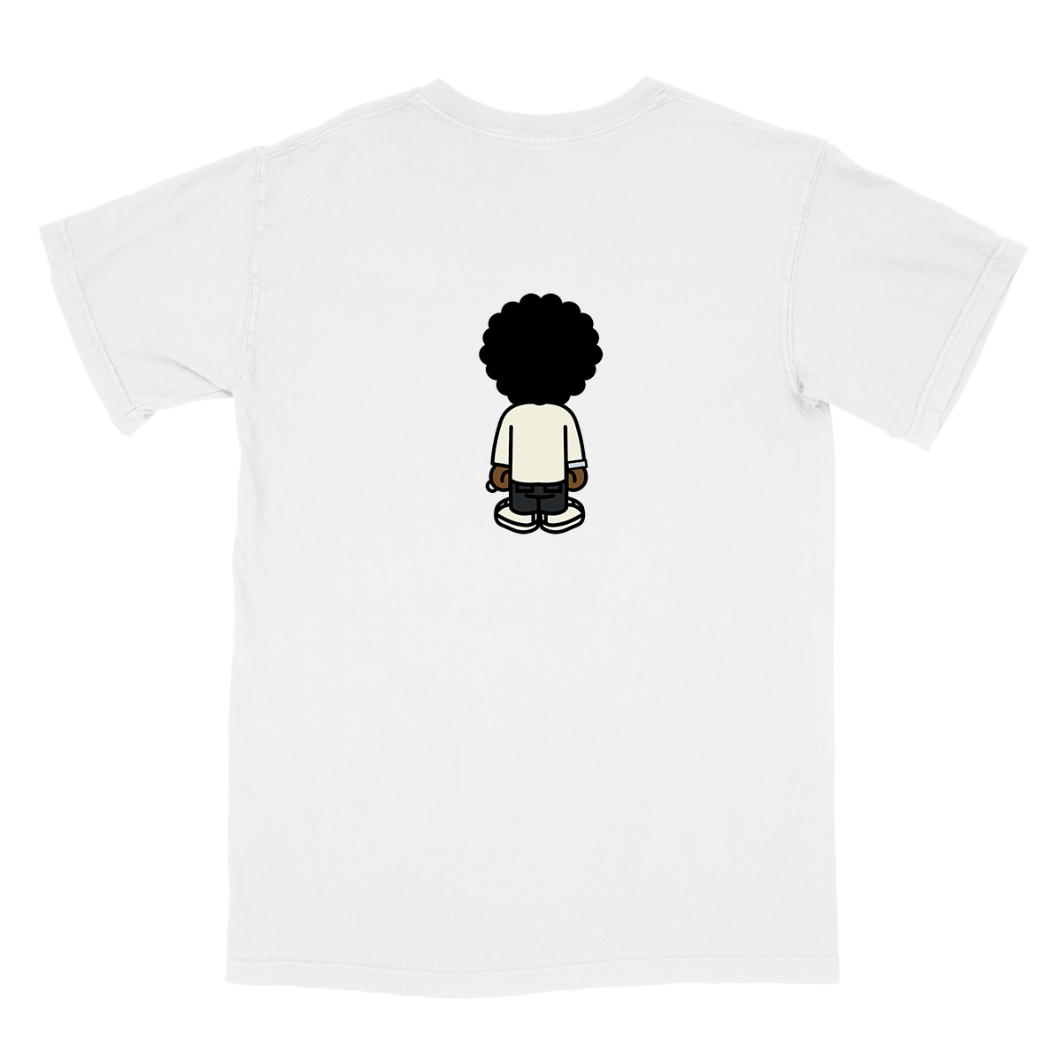 Wasting Time Tee - White