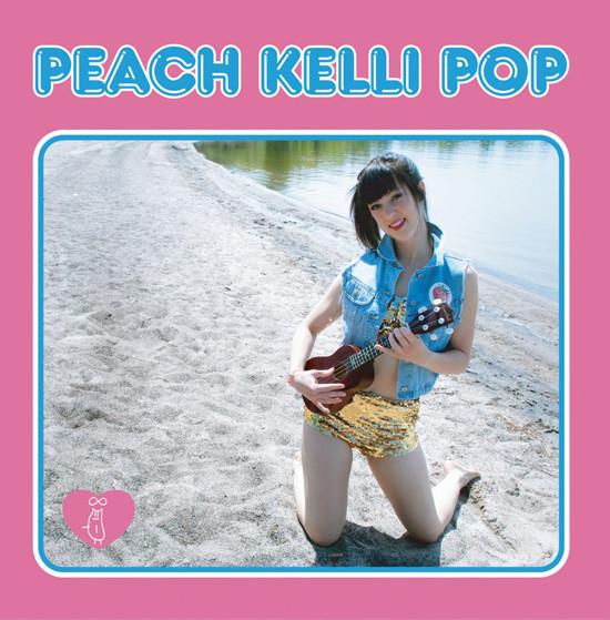 Peach Kelli Pop S/T LP PINK VINYL LTD 200 out of print