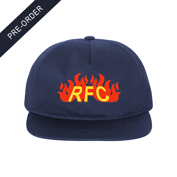 Run For Cover - Fire Logo Embroidered Hat
