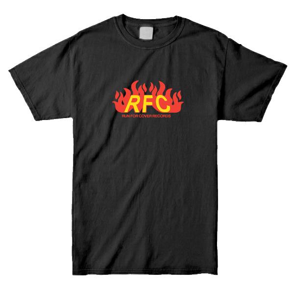 Run For Cover – Fire Logo Shirt