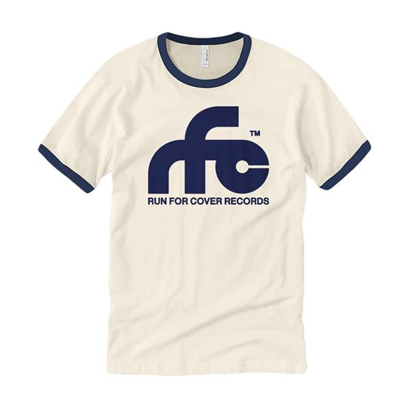 Run For Cover – Logo Ringer Shirt