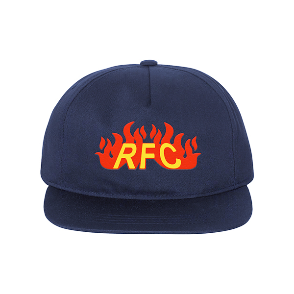 Run For Cover – Fire Logo Embroidered Hat