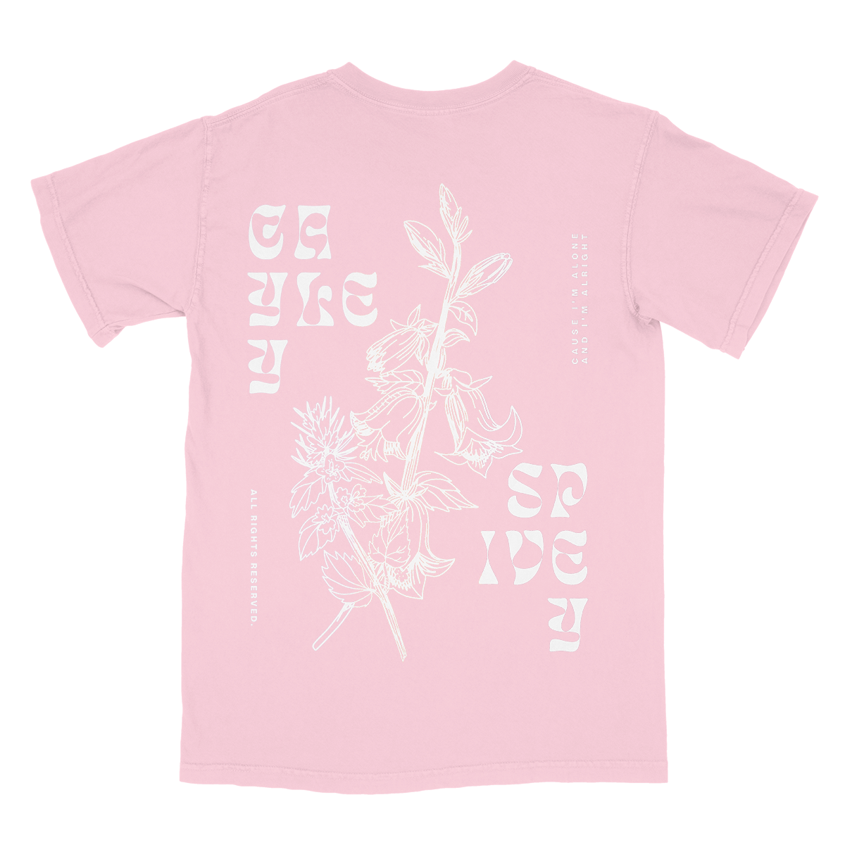 Light Pink Lily Tee