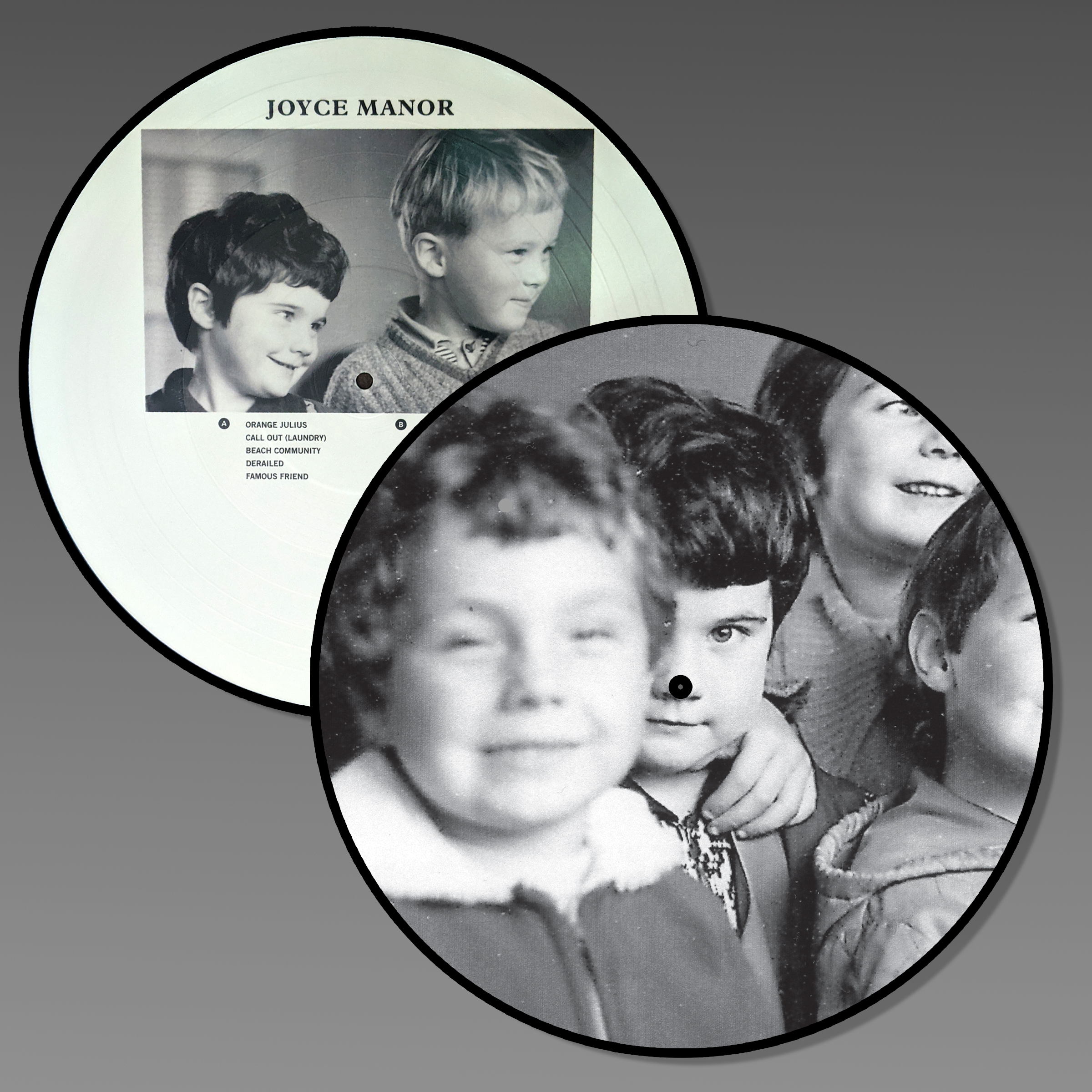 JOYCE MANOR 10 YEAR ANNIVERSARY PICTURE DISC