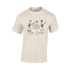 The Cribs Kids Tee Shirt - Natural