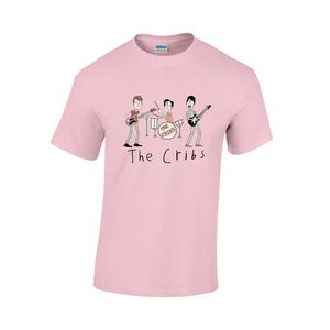 The Cribs Kids Tee Shirt - Light Pink