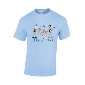 The Cribs Kids Tee Shirt - Light Blue
