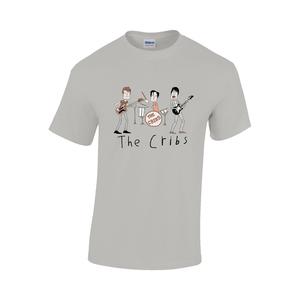 The Cribs Kids Tee Shirt - Sports Grey
