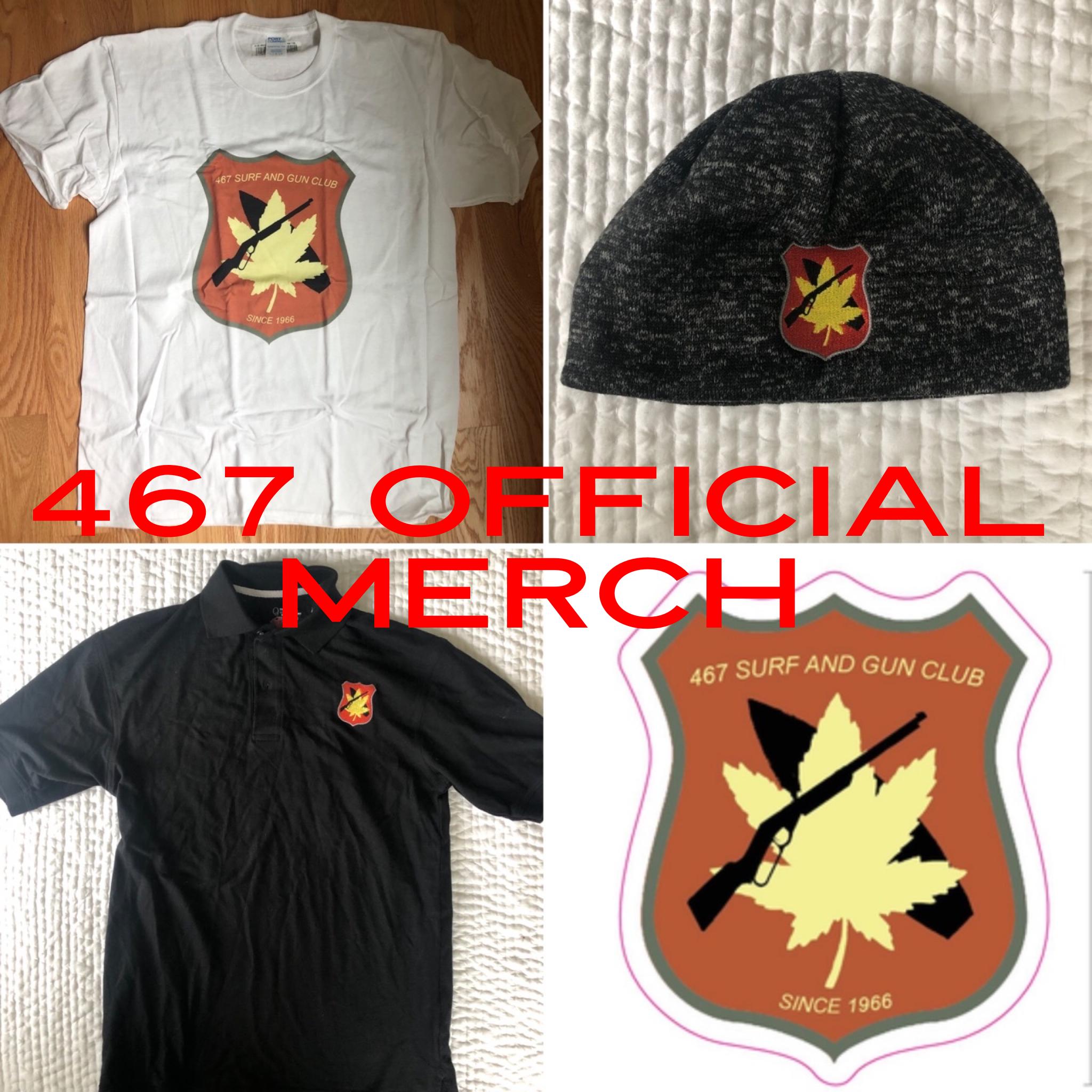 467 Surf and Gun Club OFFICIAL MERCH!