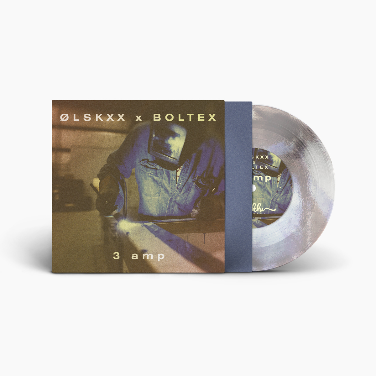 LIMITED EDITION 7in Picture Disc (10 only) - ØLSKXX & Boltex - 3 Amp