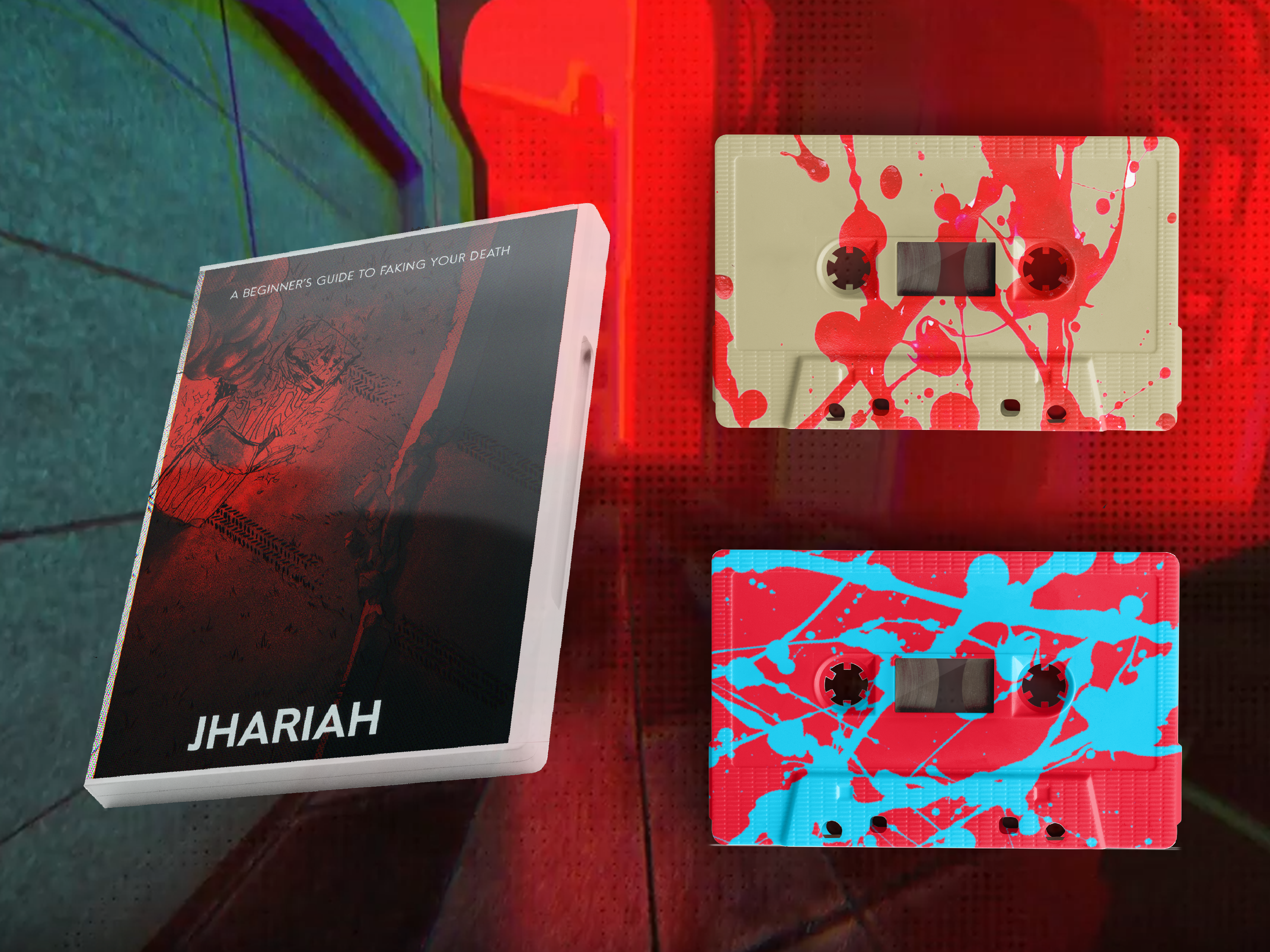 Jhariah - A Beginner's Guide To Faking Your Own Death (Limited Edition Vinyl Casette Packaging)
