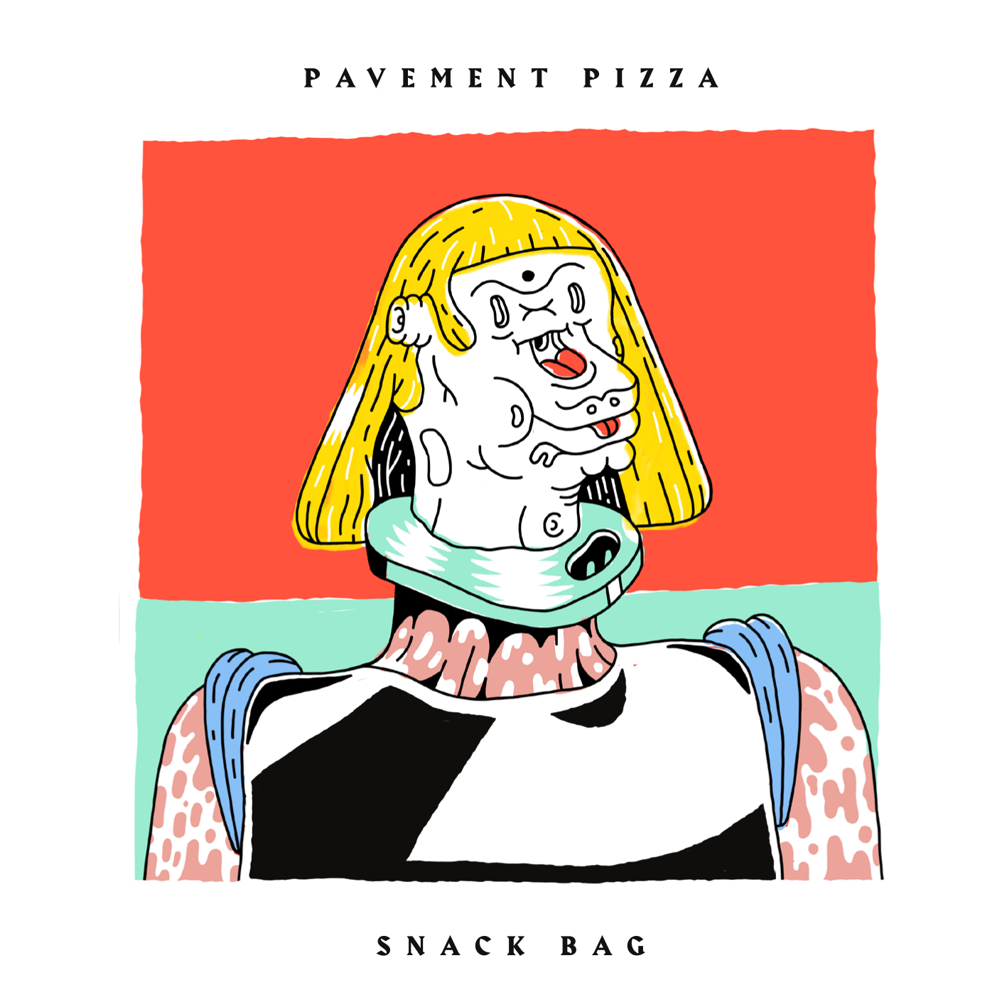 Pavement Pizza - Snack Bag CD