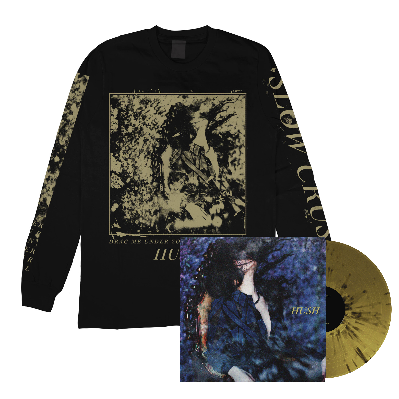 Slow Crush - Hush gold long sleeve + LP PRE-ORDER