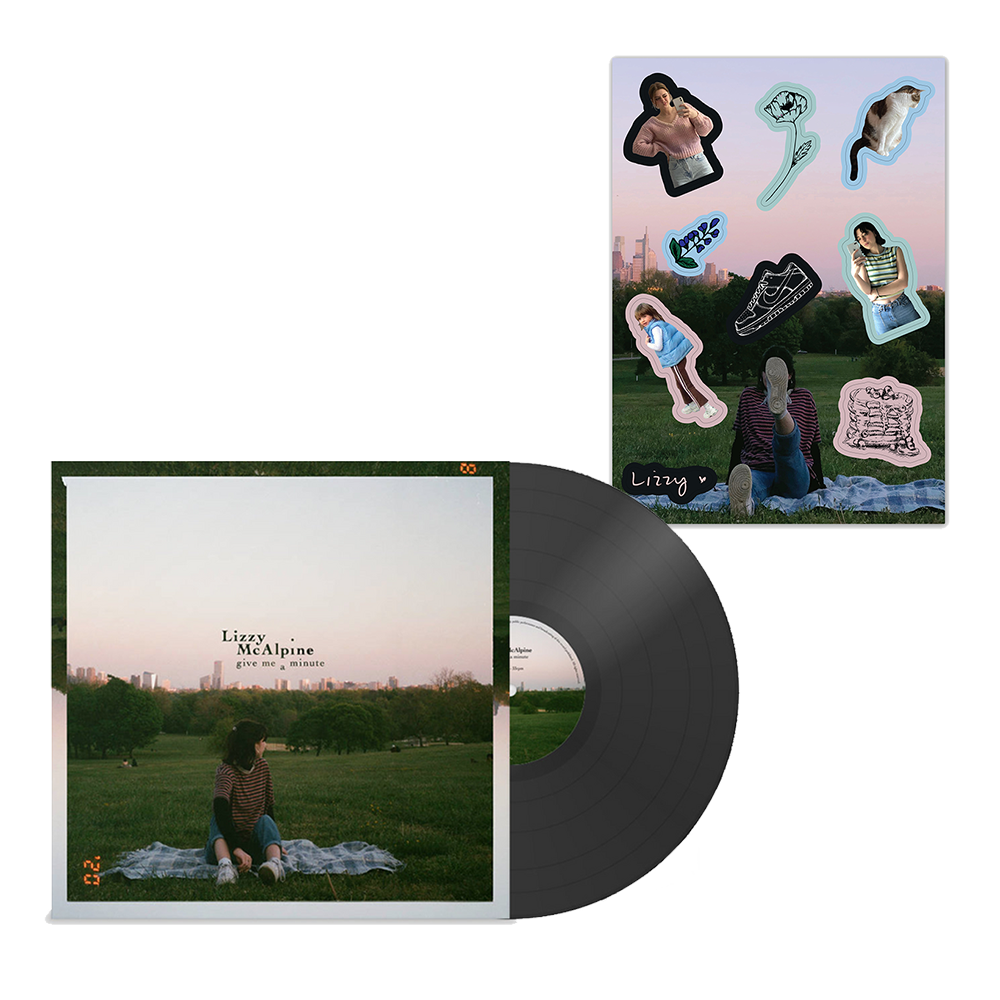 Give Me A Minute LP + Stickers