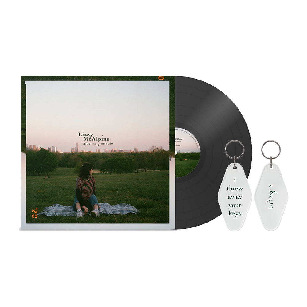 Give Me A Minute LP + Keyring