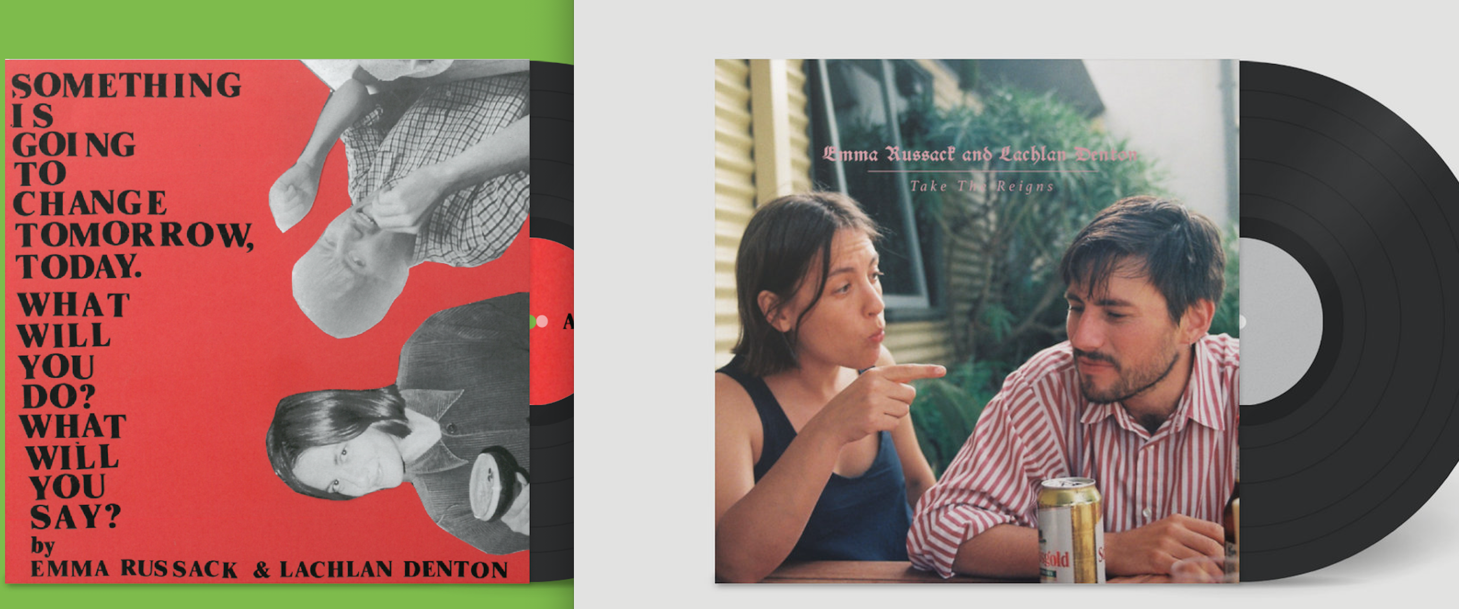 Emma Russack & Lachlan Denton 2x LP