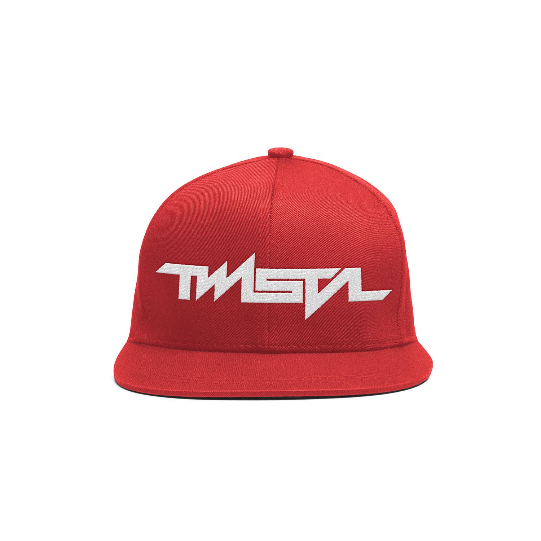 Twista - Snapback Baseball Cap (Red)
