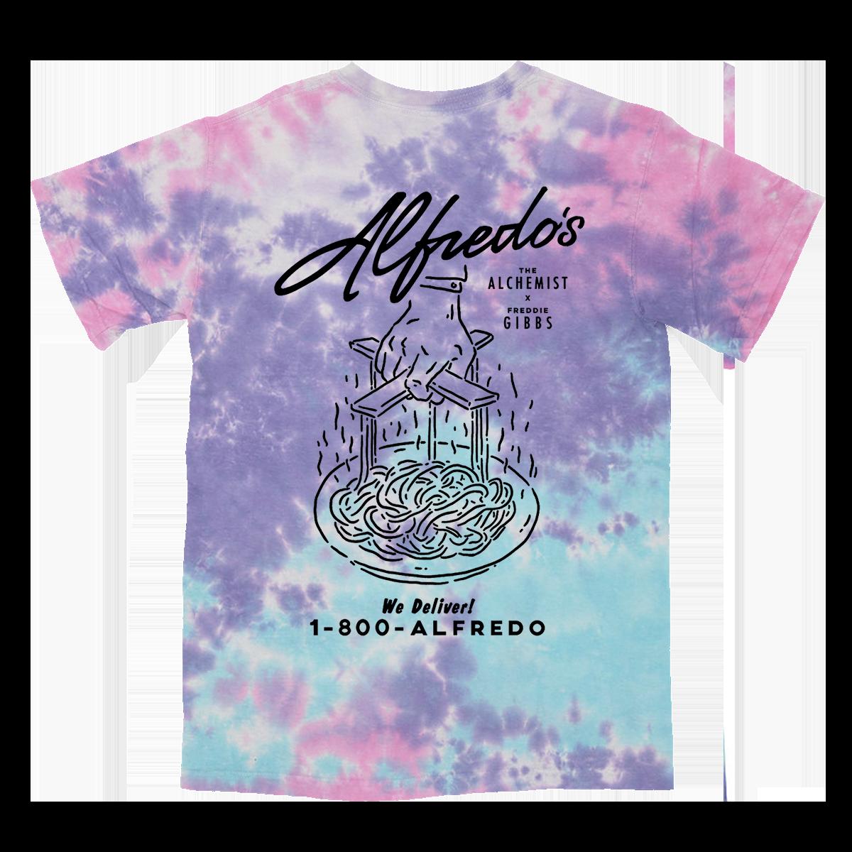 Alfredo's Restaurant Tee - Tie Dye