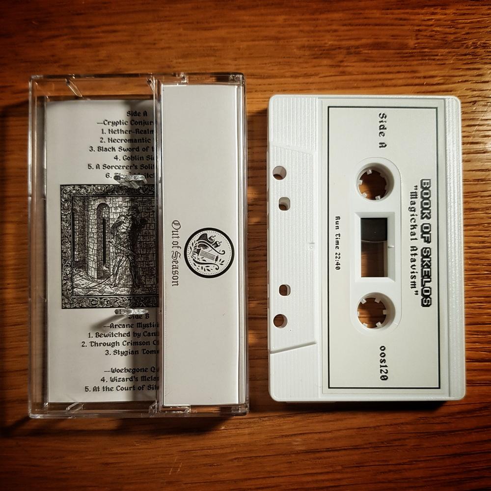 Book Of Skelos - Magickal Atavism Cassette Tape
