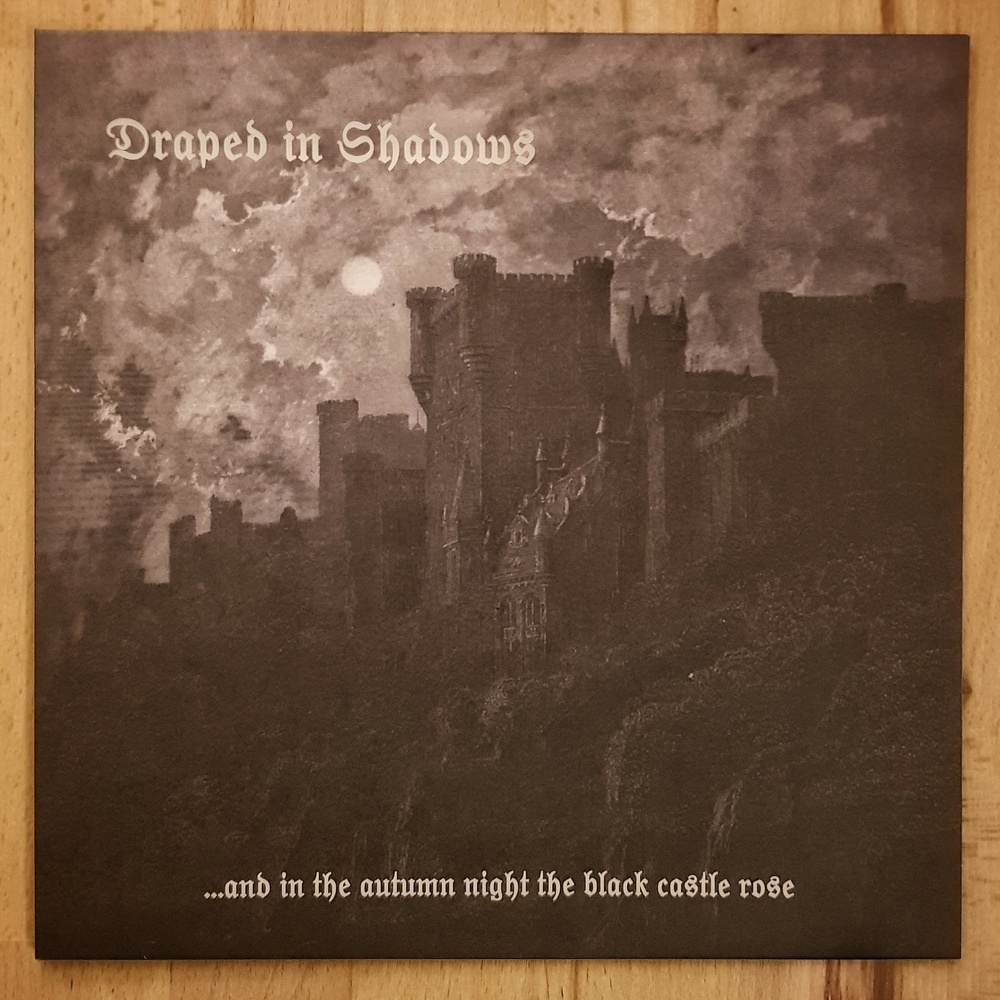 Draped In Shadows - ...and in the autumn night the black castle rose Vinyl LP