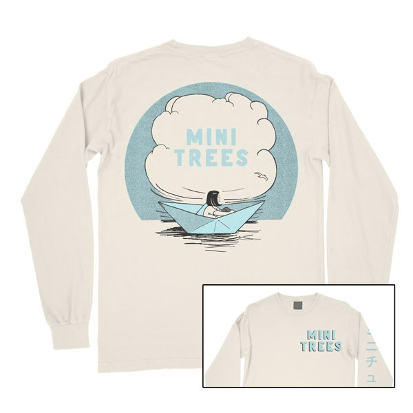 Mini Trees – Paper Boat Long Sleeve Shirt