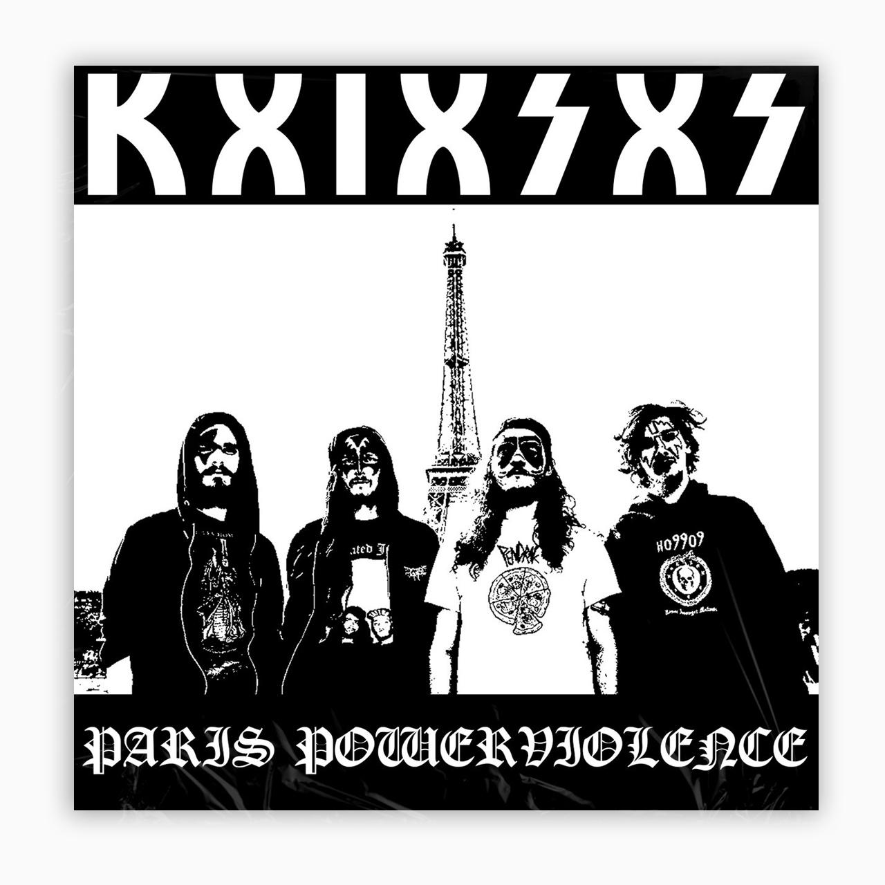 KxIxSxS 'Paris Powerviolence' CD