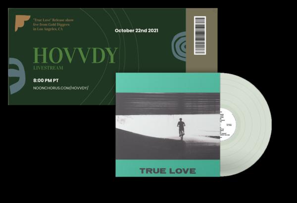 True Love Vinyl (Coke bottle clear) + Ticket