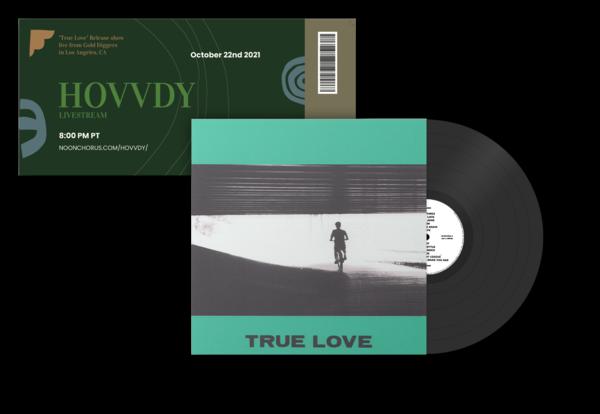 True Love Vinyl (Black) + Ticket