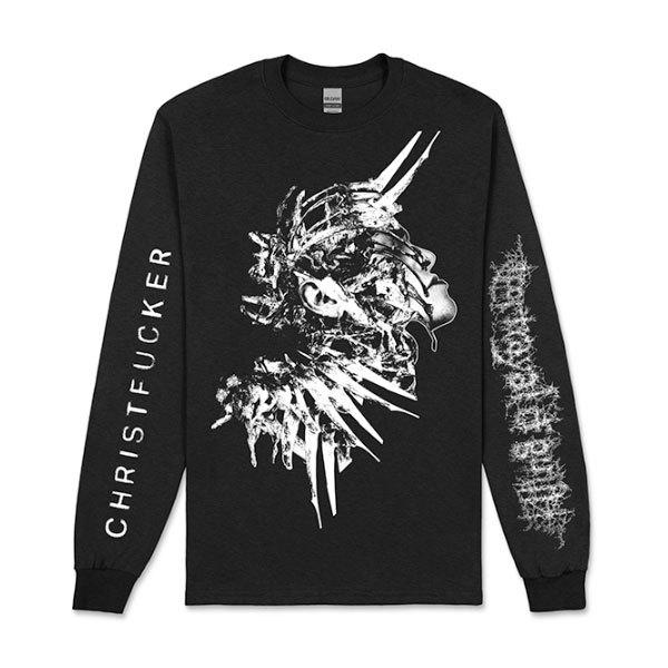 Portrayal of Guilt – CHRISTFUCKER Long Sleeve Shirt