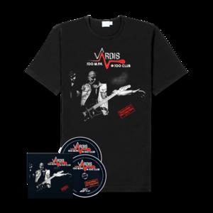 Vardis - 100M.P.H.@100CLUB (2CD + Shirt