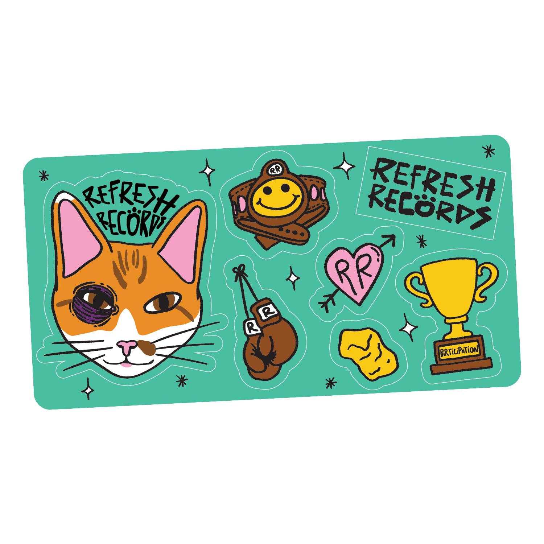 Nugget Sticker Sheet