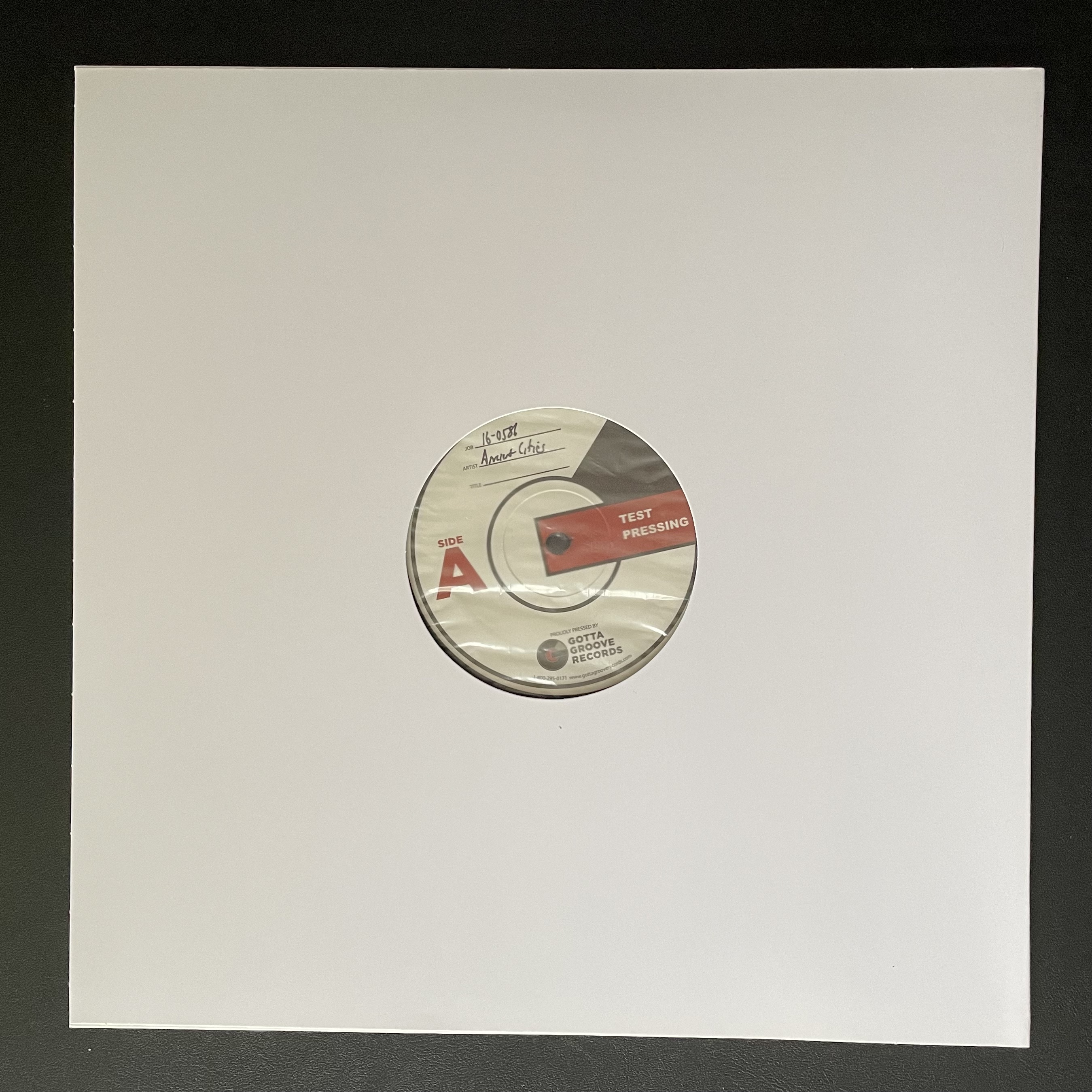 Ancient Cities - Ancient Cities [TEST PRESS]