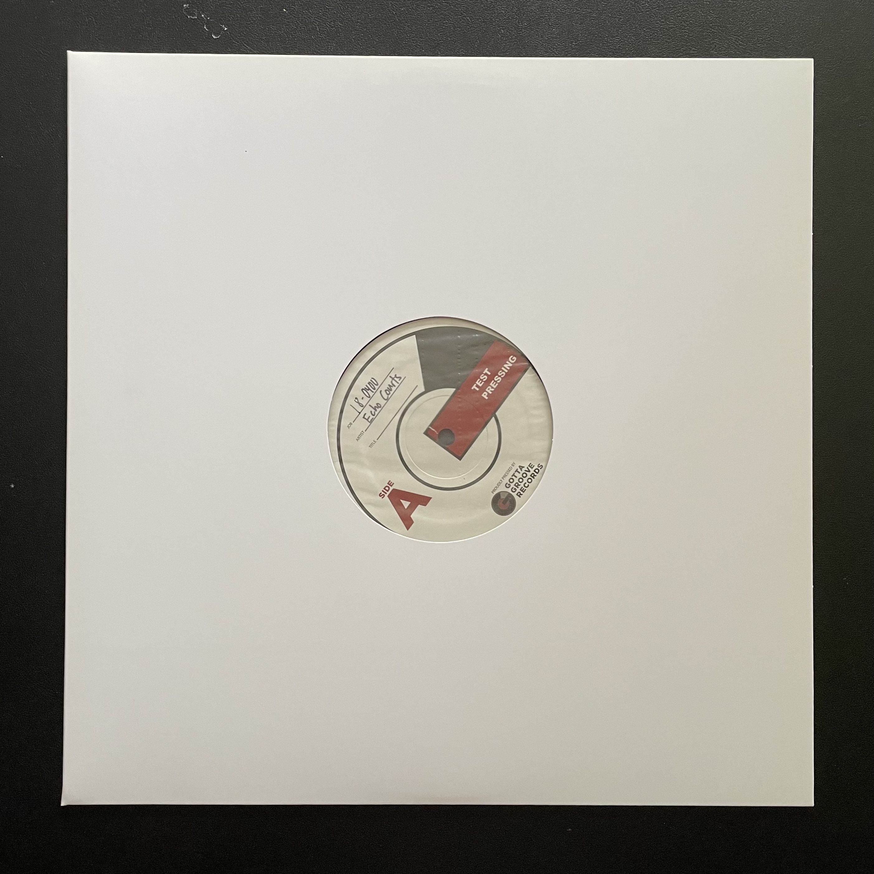 Echo Courts - Room With A View [TEST PRESS]