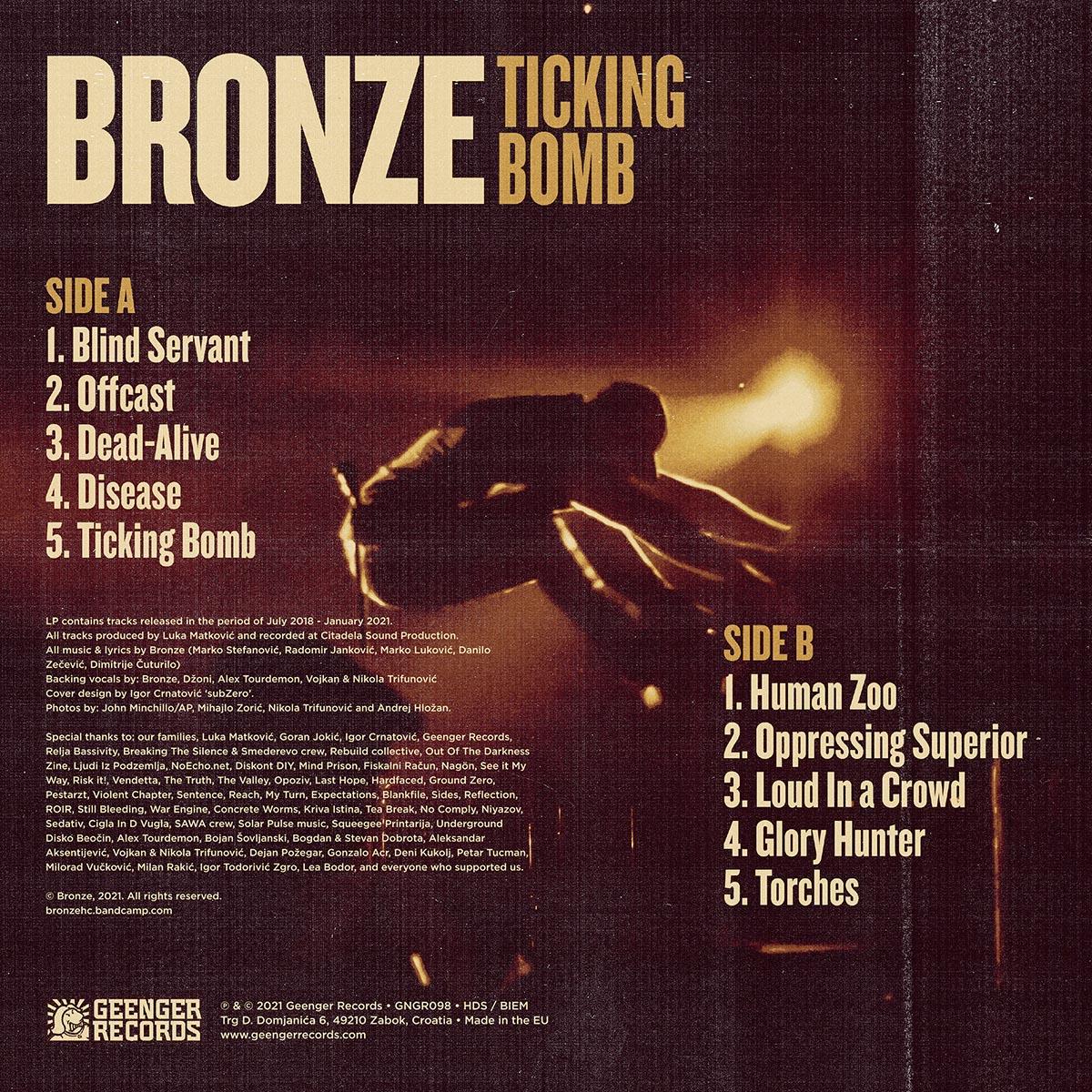BRONZE - Ticking Bomb