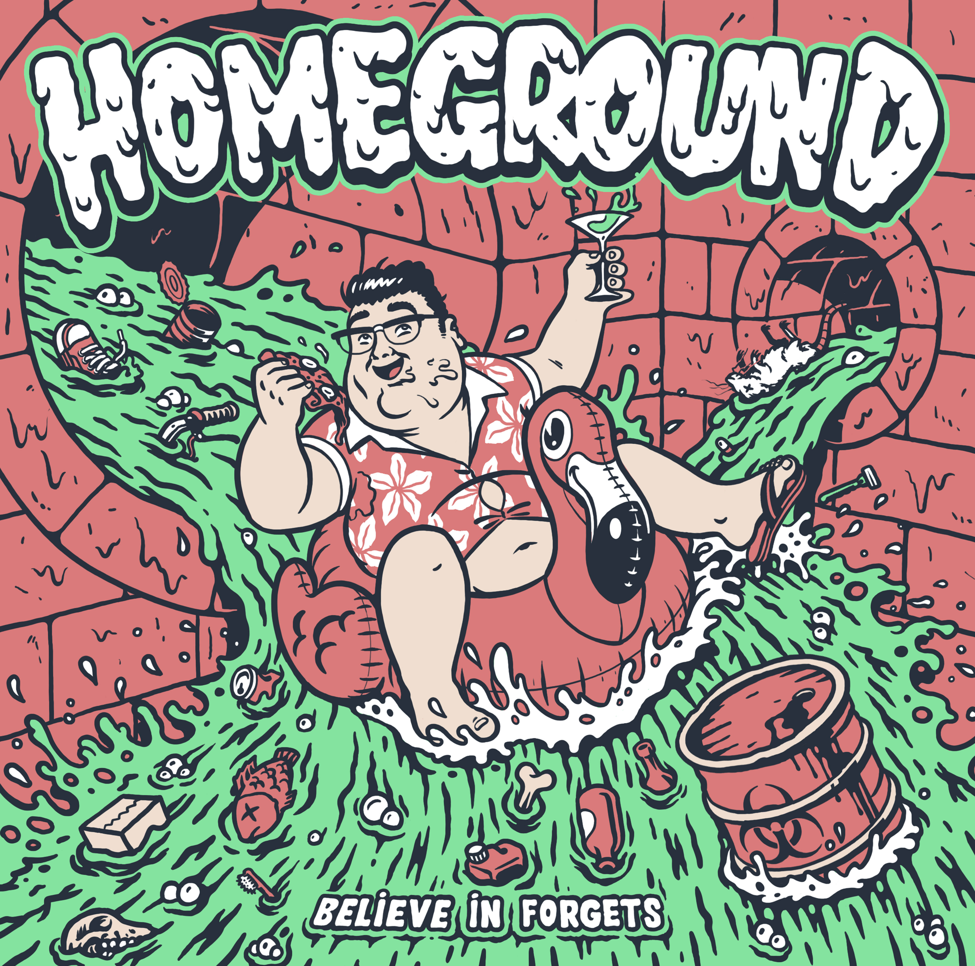 Homeground - Believe in Forgets [Vinyl, LP]