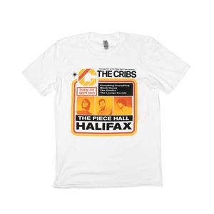 The Cribs Halifax Piece Hall T-Shirt - White