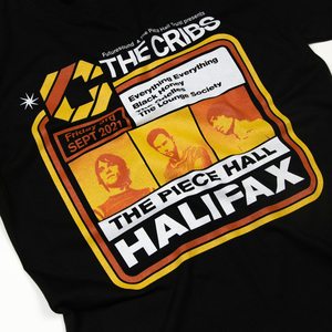 The Cribs Halifax Piece Hall T-Shirt - Black