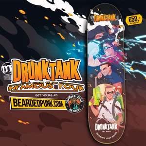 040 Drunktank Skate deck