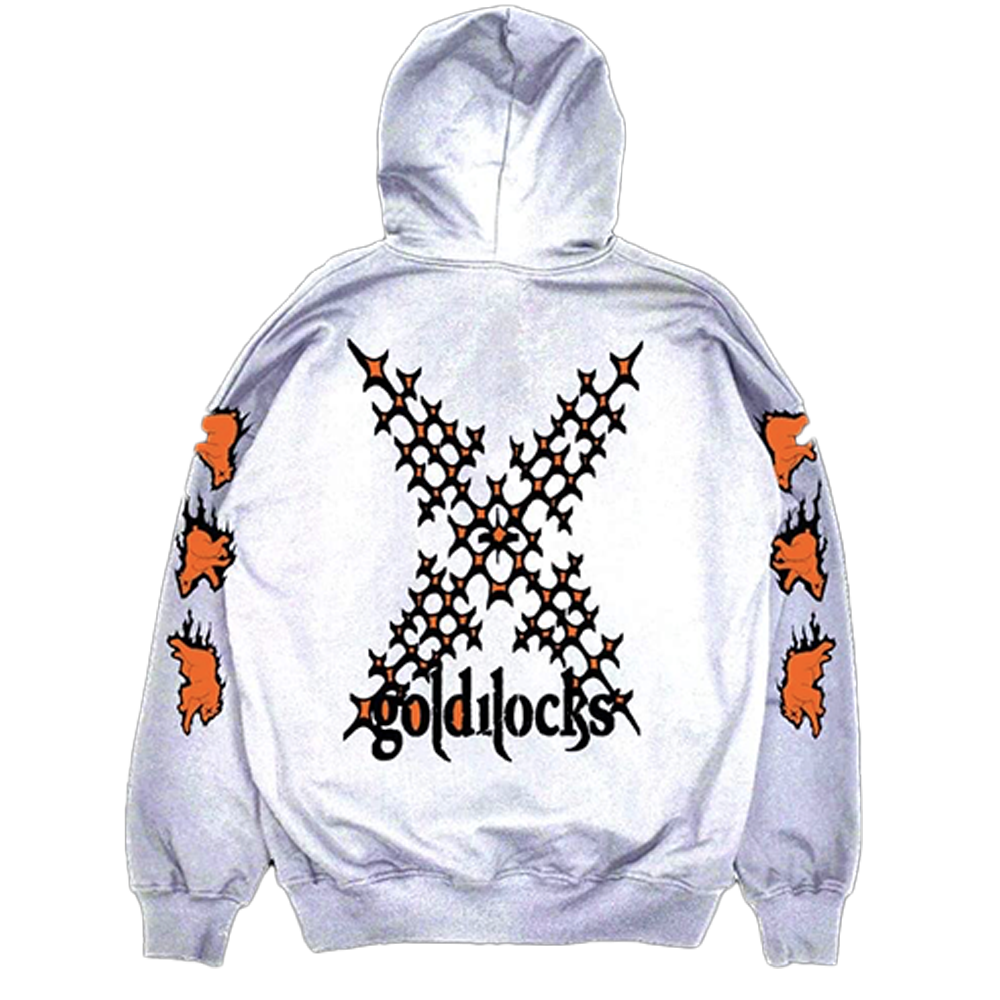 goldilocks x hoodie - white