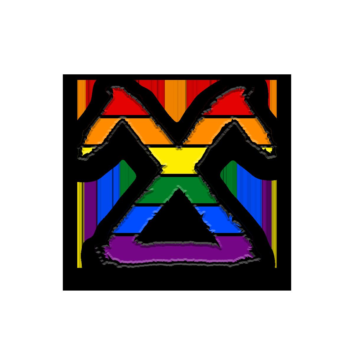 PRIDESiDER PIN - Rainbow
