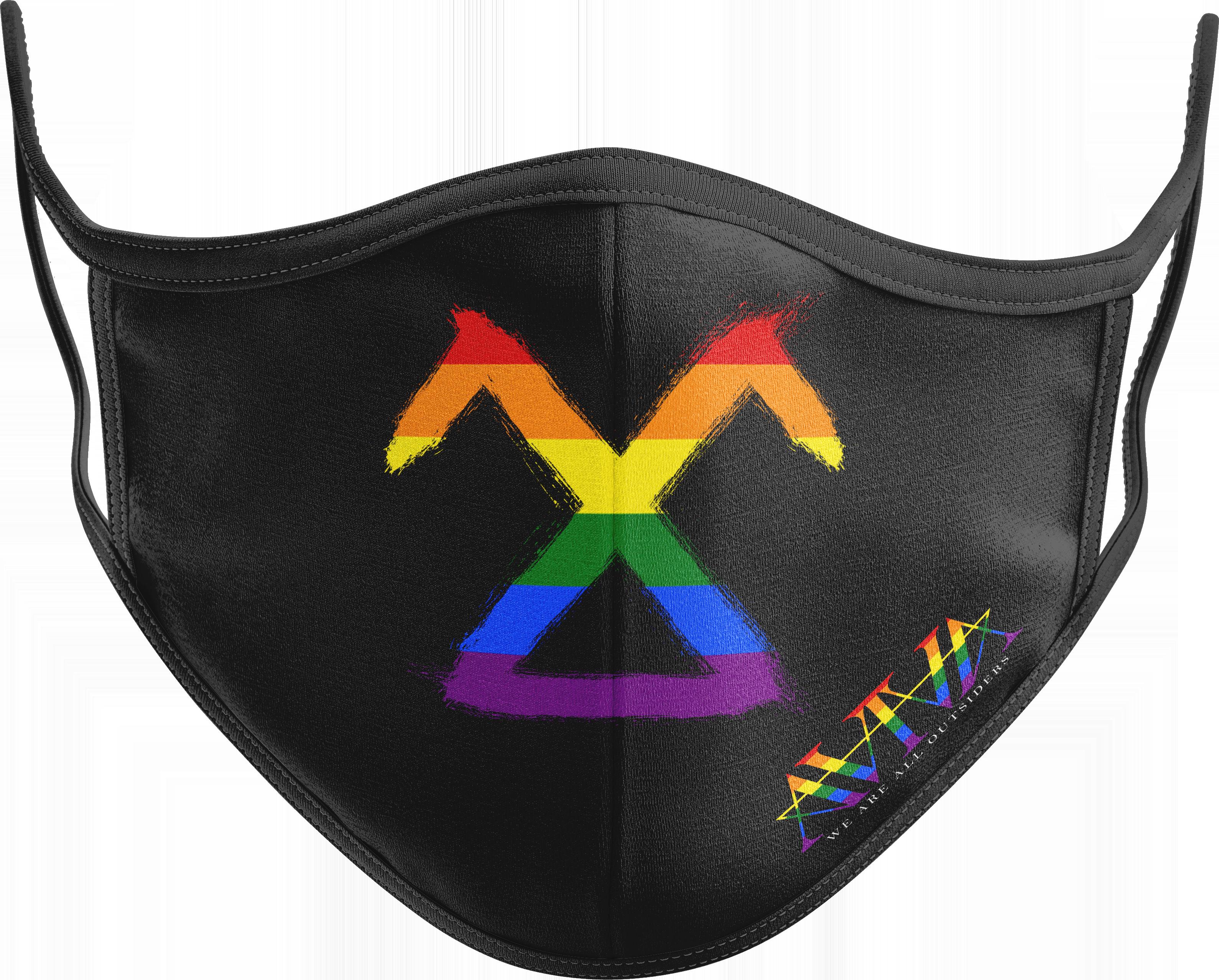 PRIDESiDER MASK - Rainbow