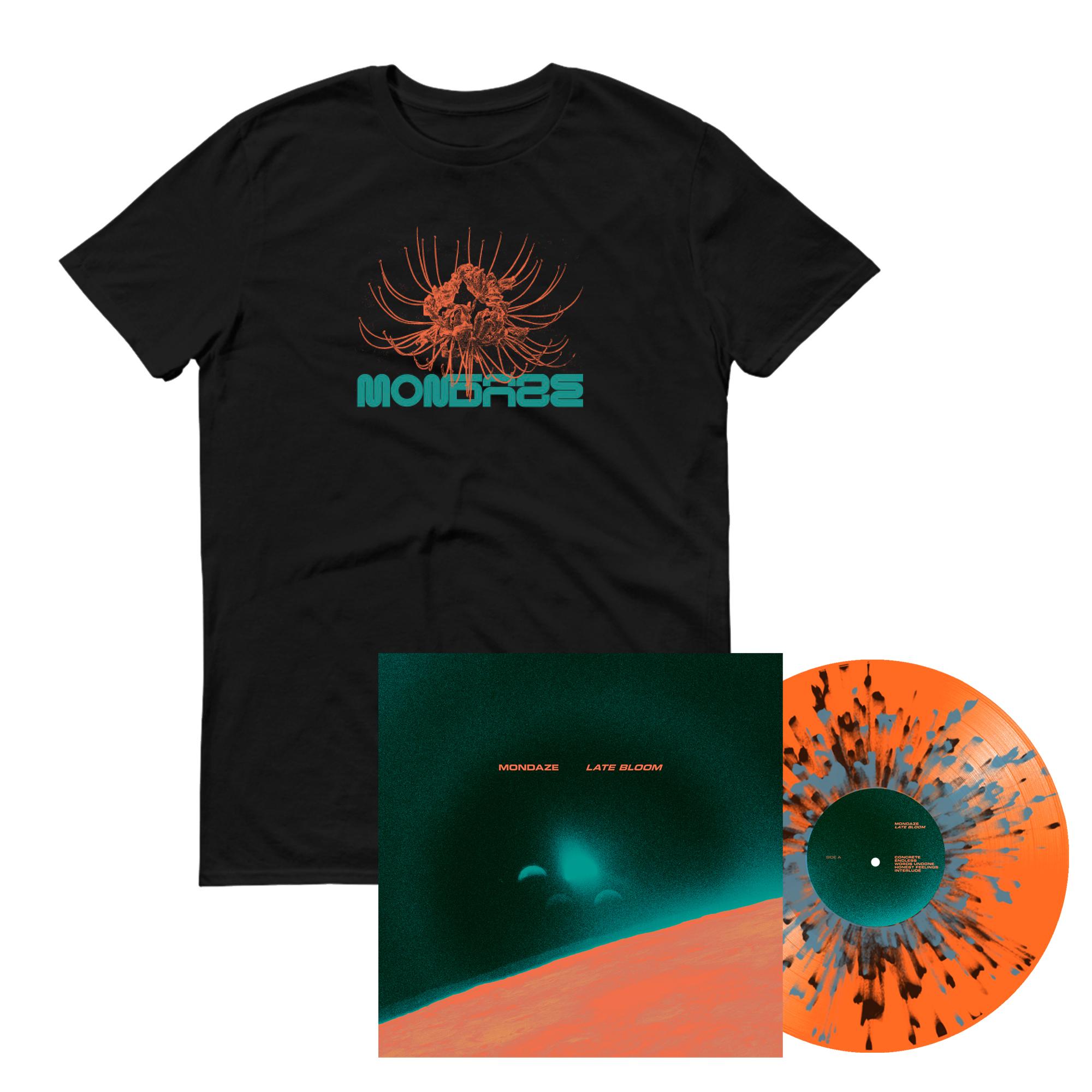 Mondaze - Late Bloom LP + shirt PRE-ORDER