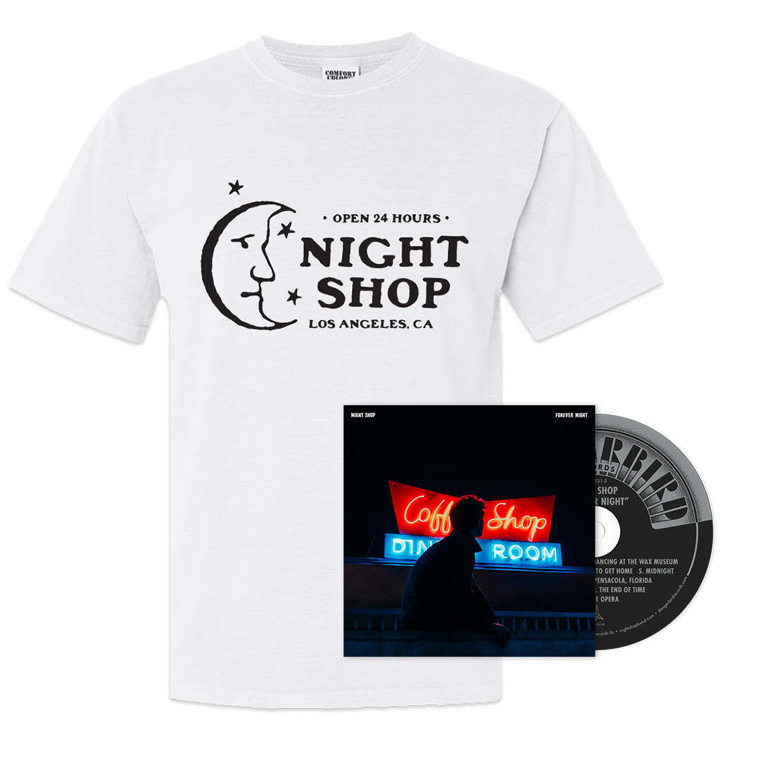 Night Shop - Forever Night CD + Shirt Bundle