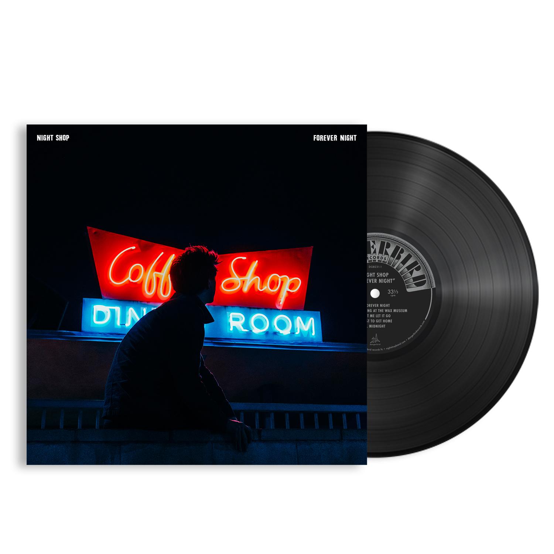 Night Shop - Forever Night LP + T-shirt Bundle